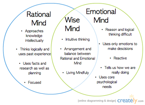 mind and heart rational decisions emotions Emotions are the most present or we act on the wrong kinds of emotions, we often make decisions that we slowly conditioning the mind to.
