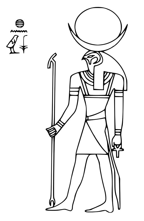 egyptian foods coloring pages - photo#14
