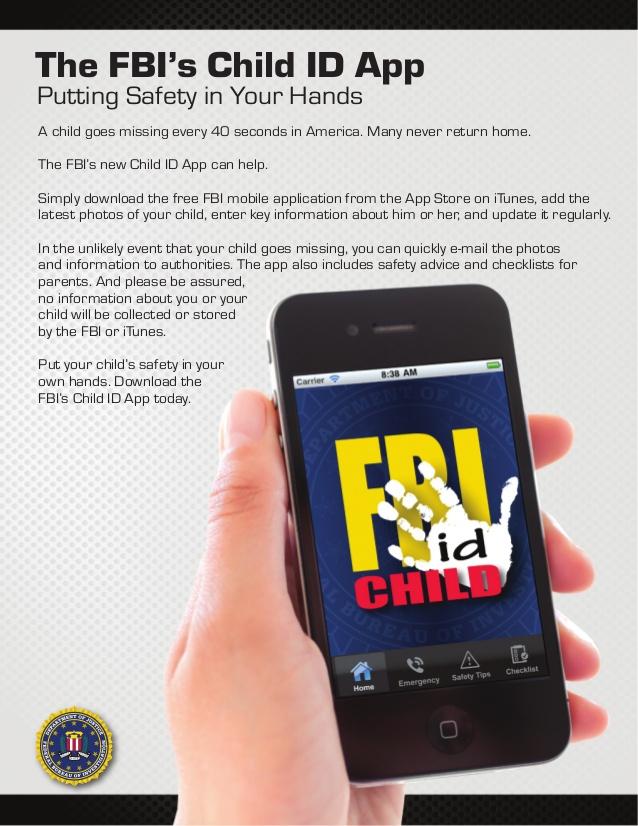FBI CHILD ID APP